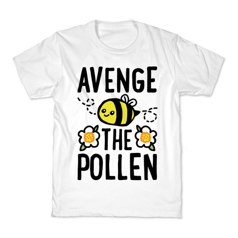 Avenge The Pollen Parody Kids T-Shirt