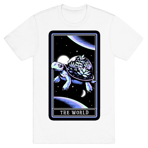 The World Tarot Turtle Terrarium T-Shirt