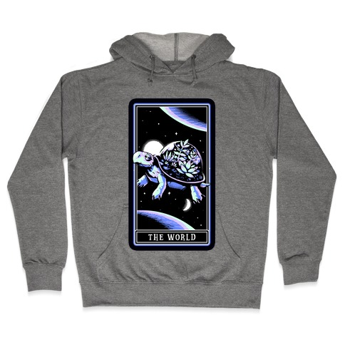 The World Tarot Turtle Terrarium Hooded Sweatshirt