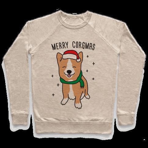 Merry Corgmas Pullover