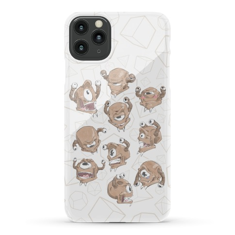 Beholder Expression Study Phone Case