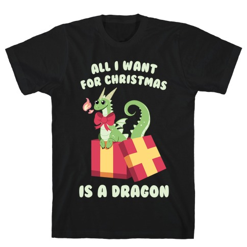 All I Want For Christmas Is A Dragon T-Shirt