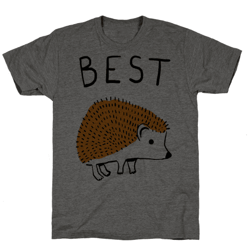 Best Buds Hedgehog Mens T-Shirt