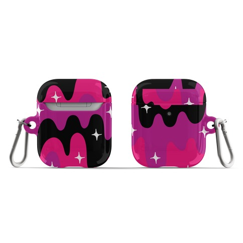 Euphoric Sparkle Drip Pattern AirPod Case