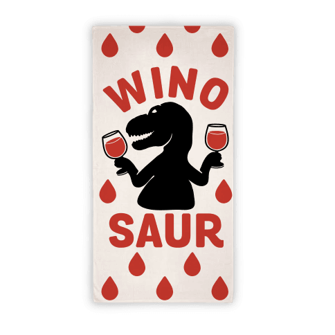 Winosaur Towel Beach Towel