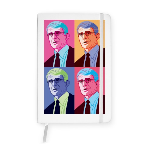Anthony Fauci Pop Art Notebook