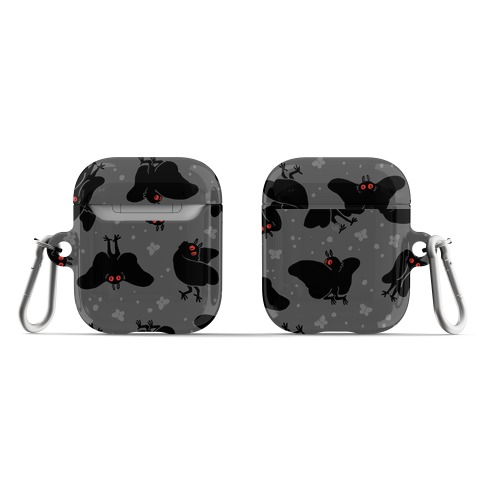 Cute Mothman Pattern AirPod Case