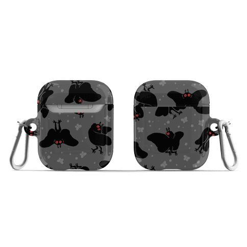 Cute Mothman Pattern AirPod Case