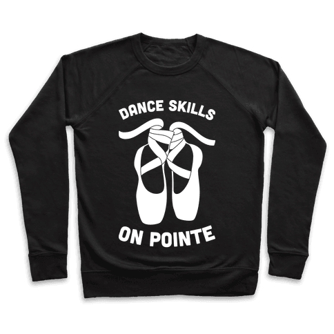 Dance Skills On Pointe (White) Pullover