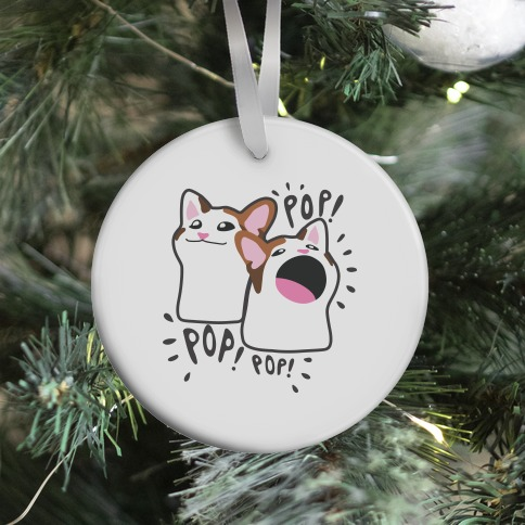 Pop Cat Ornament