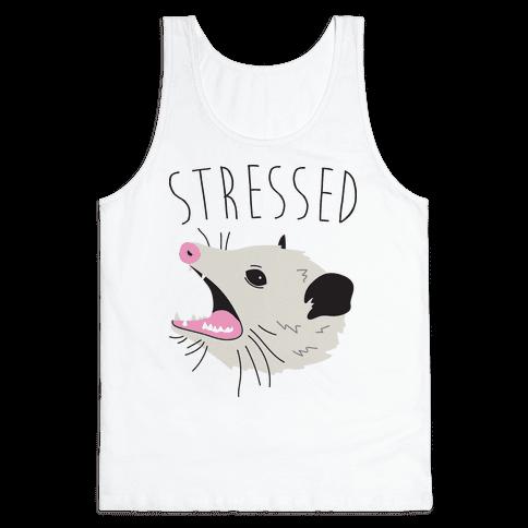 Stressed Opossum Tank Top