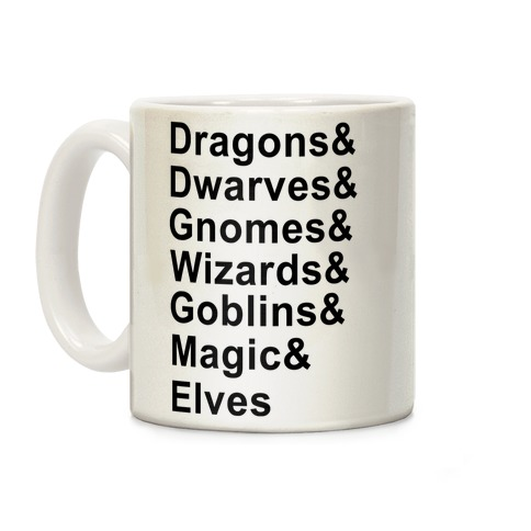 Fantasy List Coffee Mug