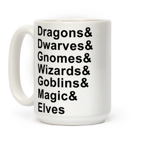 Fantasy List Coffee Mug