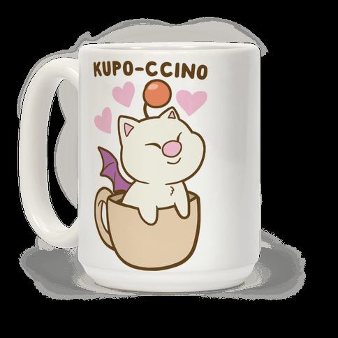 Kupo-ccino - Moogle Coffee Mug