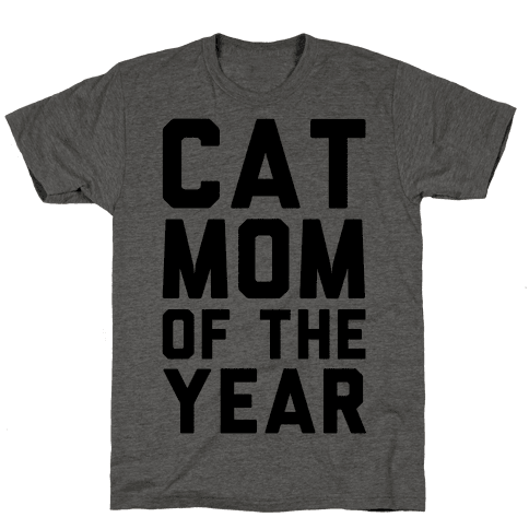 Cat Mom Of The Year