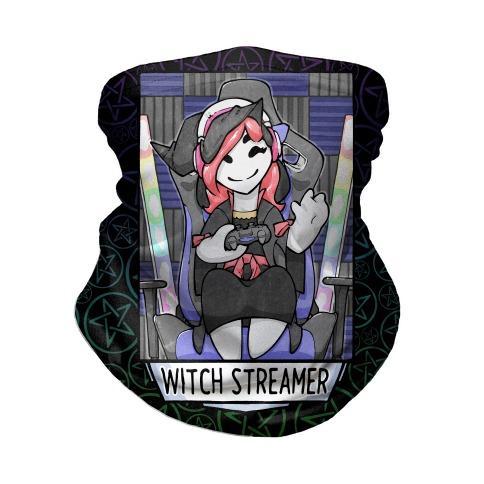 Witch Streamer Neck Gaiter