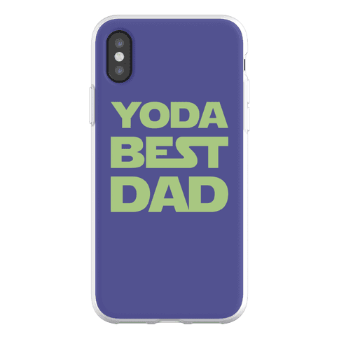 Yoda Best Dad Parody Phone Flexi-Case