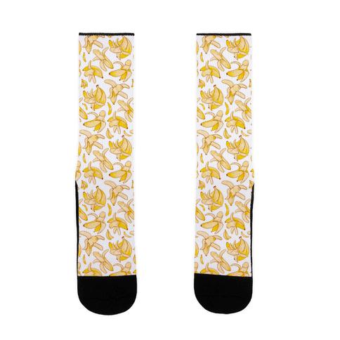 Banana penis pattern Sock