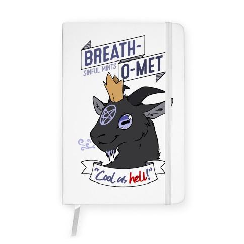 Breath-O-Met Sinful Mints Notebook