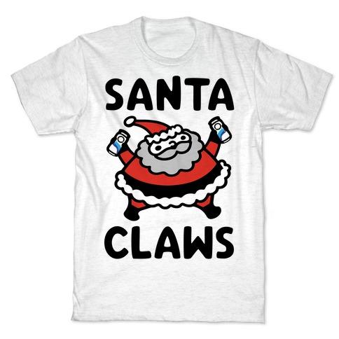 Santa Claws Parody T-Shirt