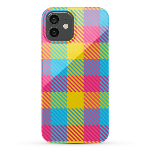 Pan Pride Flag Plaid Phone Case