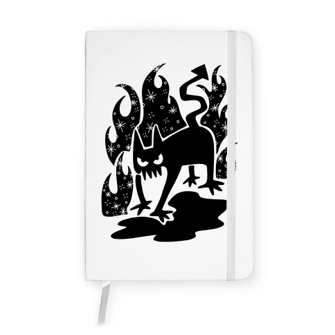 Demon Cat Notebook