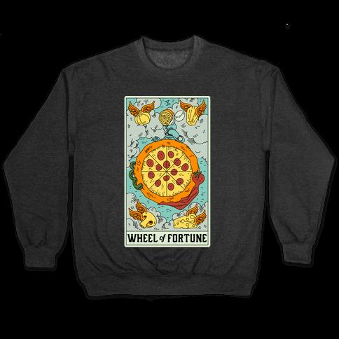 Wheel Of Fortune Pizza Pullover