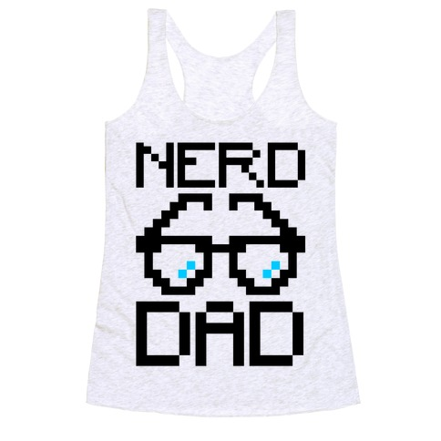 Nerd Dad Racerback Tank Top