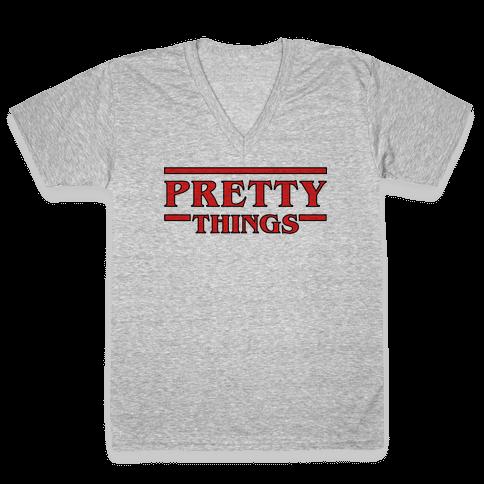 Pretty Things V-Neck Tee Shirt