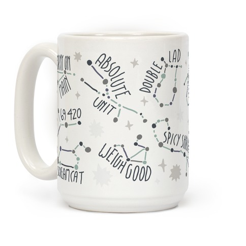 Asstrology Constellations Coffee Mug