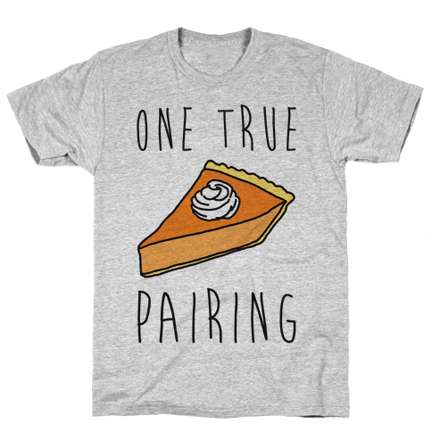 One True Pairing Parody Mens T-Shirt