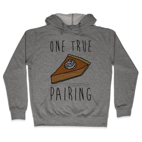 One True Pairing Parody Hooded Sweatshirt