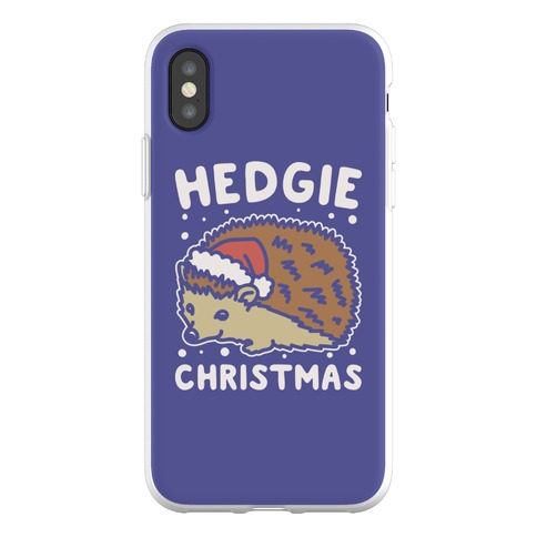 Hedgie Christmas Phone Flexi-Case