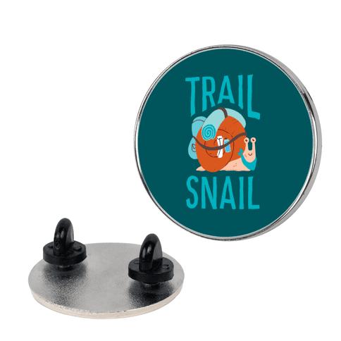 Trail Snail Pin