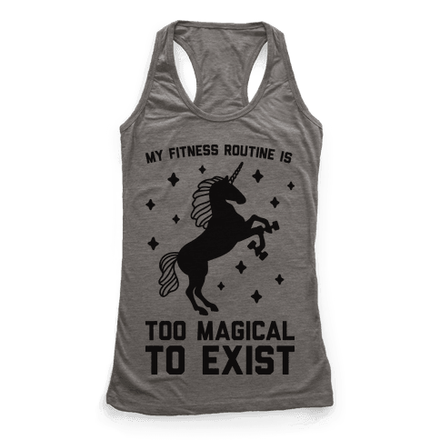 My Fitness Routine Is Too Magical To Exist