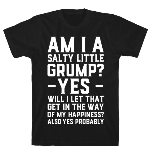 A Salty Little Grump