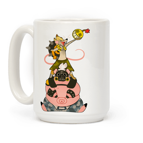 Our Names Are Junkrat and Roadhog! Coffee Mug