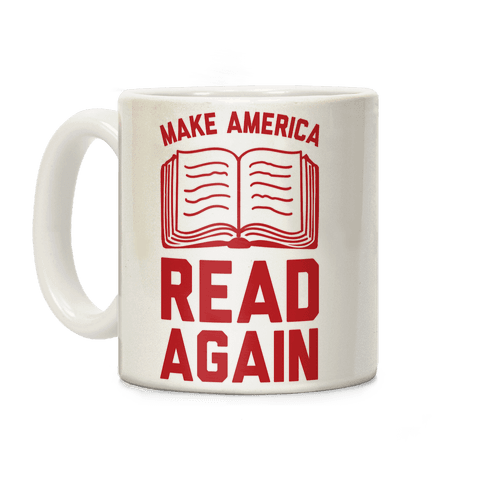Make America Read Again Coffee Mug