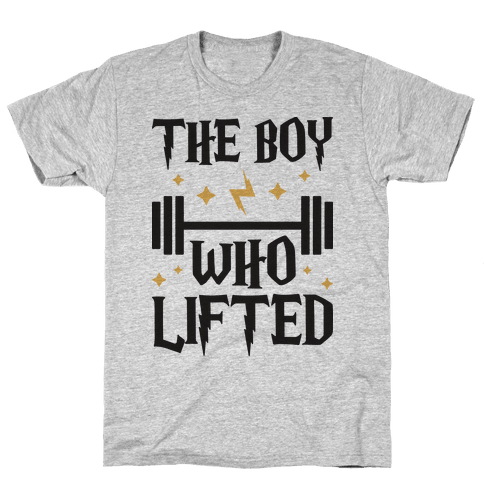 The Boy Who Lifted Mens T-Shirt