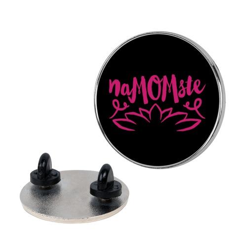 NaMOMste Yoga Mom Parody Pin