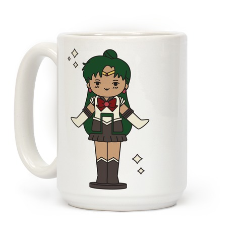 Sailor Pluto Pocket Parody Coffee Mug