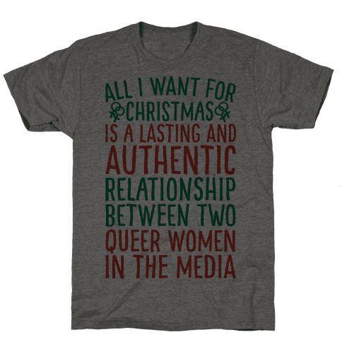 All I Want For Christmas Parody Queer Women Relationships