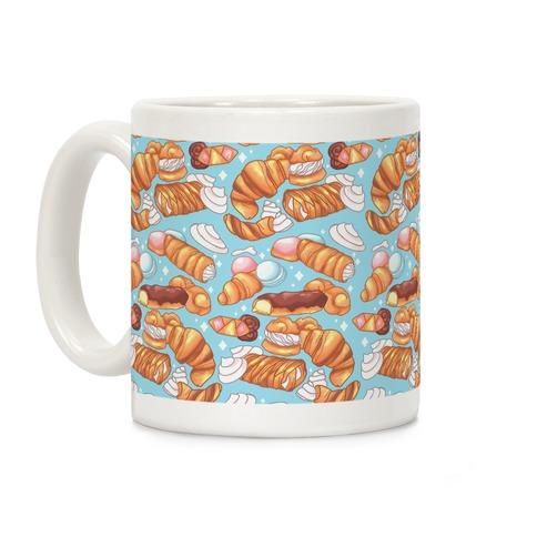 Penis Pastries Pattern Coffee Mug