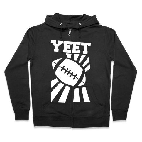 Yeet - Football Zip Hoodie