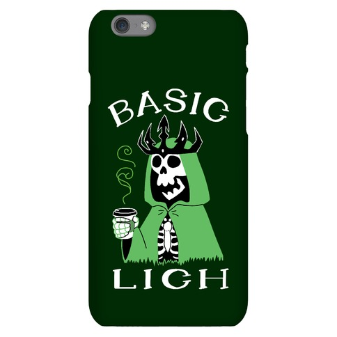 Basic Lich Phone Case