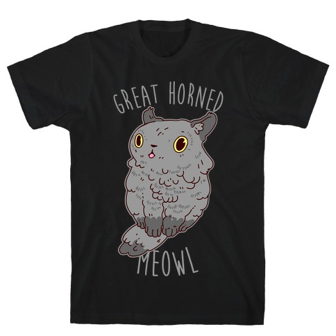 Great Horned Meowl T-Shirt