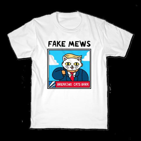 Fake Mews Kids T-Shirt