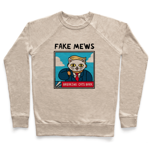 Fake Mews Pullover