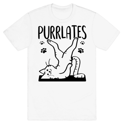 Purrlates Mens/Unisex T-Shirt