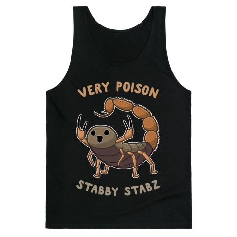 Very Poison Stabby Stabz Tank Top